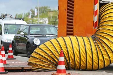 Saugwagentransporte